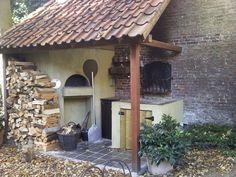 de broodoven; site voor zelfbouw pizzaoven