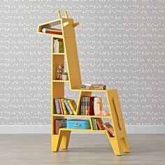 Giraffe Shape Bookshelves For The Kids' Room