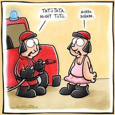 TüTü TaTa | #fun #nichtlustig #tutu #feuerwehr