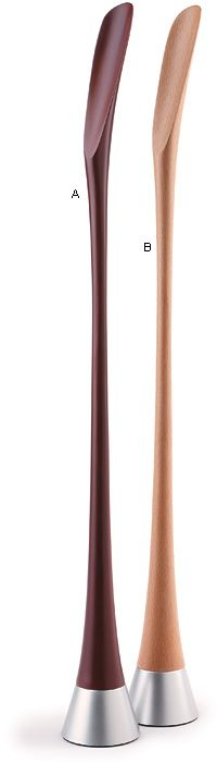 Leonardo Shoehorn - Designed by Italian architect and furniture designer Leonardo Rossano Id Design, Form Design, House Design, Industrial Design, Fashion Art, Cool Designs, Design Inspiration, Lee Valley, Woodturning