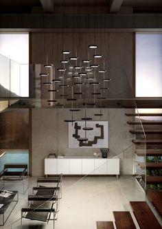 Lámparas de suspensión. Lámparas decorativas. Iluminación, diseño.