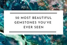 50 Most Beautiful Gemstones You've Ever Seen - Unearthed Gemstones Minerals And Gemstones, Crystals Minerals, Rocks And Minerals, Large Crystals, Stones And Crystals, Gem Stones, Beautiful Rocks, Most Beautiful, Beautiful Things