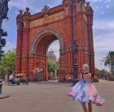 Arc De Triomphe, Barcelona Triomphe, Barcelona, Spain, Travel, Viajes, Traveling, Barcelona Spain, Trips, Tourism