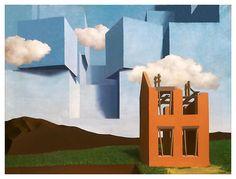 Rene Magritte - El Universo desenmascarado - 1932