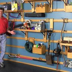 Custom Garage Storage