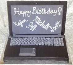 Laptop Cake (By)