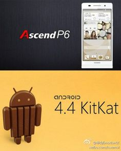 Ex-thinnest phone, Huawei Ascend P6, to get Android 4.4 KitKat by January 2014 #tecnologia #huawei #blogtecnologia #tablet #bq #edison #tabletoferta #tabletbarata