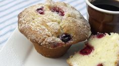 Cranberry and White Chocolate Muffins - RTE Food