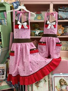Apron - Mommy and Me Bunny Apron - Grandma's Attic Sewing Emporium, Quilt Shop, Embroidery supplies, Quilting Supplies and Fabrics Cute Aprons, Chocolate Bunny, Embroidery Supplies, Sewing Crafts, Sewing Ideas, Aprons Vintage, Mommy And Me, Elsa, Needlework