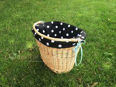 Bicycle basket liner DIY / Tutorial: wypełnienie do koszyka