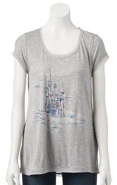 Disney's Cinderella a Collection by LC Lauren Conrad Foil Graphic Tee - Women's