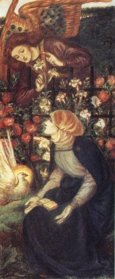 Dante Gabriel Rossetti,The Annunciation