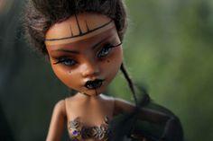 Mirembe OOAK Monster High Repaint Art Doll by NebulaArtDolls
