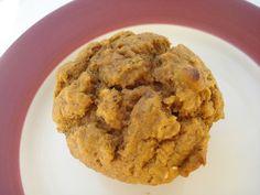 Eat clean pumpkin PB muffins