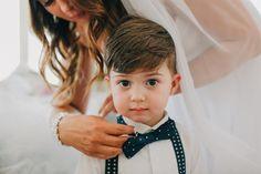 Cute little ring bearer  John Benavente Photography