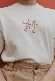 hand+embroidered+encouraging+quote+t-shirt