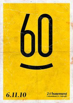 Posters / Flyers 01 by Aleksi Ahjopalo, via Behance