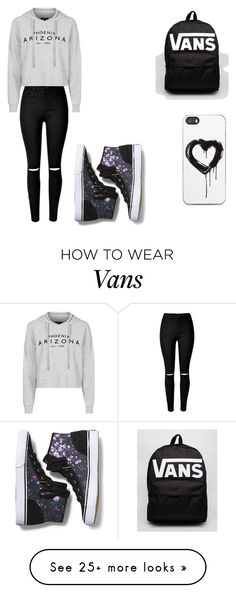 """Lazy vans day"" by jacenormanisbae7 on Polyvore featuring Topshop, Keds, Vans, Zero Gravity, women's clothing, women, female, woman, misses and juniors"