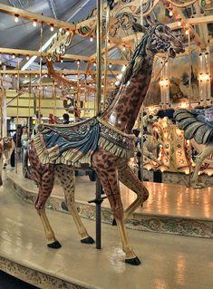 Trimper's Herschell-Spillman Carousel Herschell-Spillman Giraffe