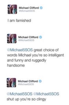 Michael Clifford everyone