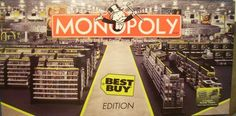 Monopoly - Best Buy Edition (2002) board game