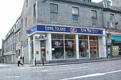 The Long Island Iced Tea Shop. City By The Sea, Aberdeen, Iced Tea, Long Island, Terrace, Scotland, Street View, History, Pictures