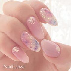 No 1 Nail Book- # Naturalnails - Dessins Ongles Pretty Nail Art, Cute Nail Art, Cute Nails, Korean Nail Art, Asian Nail Art, Asian Nails, Kawaii Nail Art, Minimalist Nails, Best Acrylic Nails