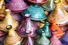 Tahine ceramic ~ Souk in Marrakesh, Morocco by trait2lumiere on Flickr.