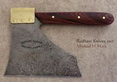 Custom Handmade Knives - The Smallaxe Cleaver