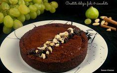 Crostata delizia fichi e cioccolato vegan senza glutine http://www.senzaebuono.it/crostata-delizia-fichi-e-cioccolato/