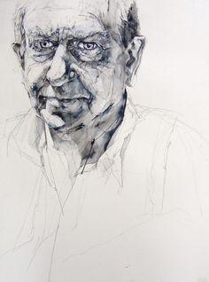 Richard( Edge) 2007. pencil on paper 60cm x 40cm~