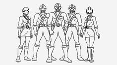 Is your kid a fan of Power Rangers series? Here is a perfect way to get him close to his love with 10 free printable power rangers megaforce coloring pages.
