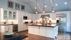 White Shaker Cabinets - traditional - kitchen - - by Kitchen Resource Direct