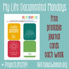My Life Documented Mondays