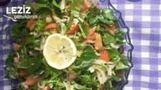 Nohut Piyazı Tarifi - Leziz Yemeklerim Roka, Tacos, Mexican, Vegetables, Ethnic Recipes, Veggie Food, Vegetable Recipes, Veggies, Mexicans