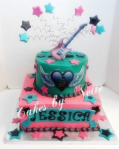 Rock Star Cake, Cakes By Nette