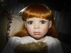 """CHRISTINE ORANGE LIMITED ED. GORGEOUS """"LYDIA"""" IN ORIGINAL OUTFIT 32"""" #184 OF1000 #Dolls"""