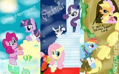 Disney Pony Princess - MLPFIM by PinkieDash on DeviantArt