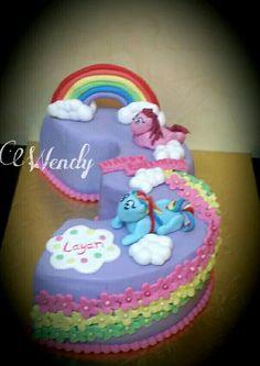 Little poney cake