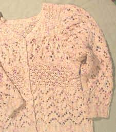 lace stitch sweater