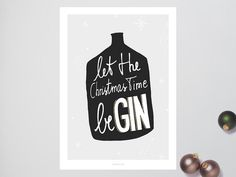 Let the christmas time be GIN!  Our artpieces are not only supposed to make you happy, but also to emphasize your individuality. Any questions? Feel free to write to us.  Format and Shipping — This offer is valid for artprints in the formats A5 and A4 (148 x 210 mm and 210 x 297 mm). Are you looking for this print in A3, A2, A1 or a special format? Then pick one of the following offers and name the motiv in your order ... www.etsy.me/1Rpux6q  Sets of prints — You cant get enough? Browse our…
