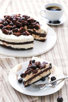 Fudge Brownie Mudslide Ice Cream Cake