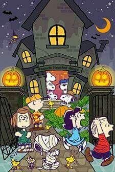 Peanuts gang spooktacular