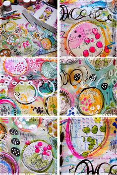 Roben-Marie Smith-circles and doodles