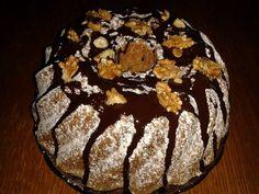 Jak udělat ořechovou bábovku s čokoládovou polevou | recept Food Hacks, Breakfast, Cakes, Recipes, Morning Coffee, Cake Makers, Kuchen, Cake, Torte