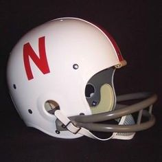 Nebraska Cornhuskers 1970-81 '1970 National Champs' Authentic Vintage Full Size Helmet