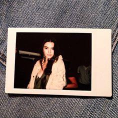 Polaroid of Kendall Jenner