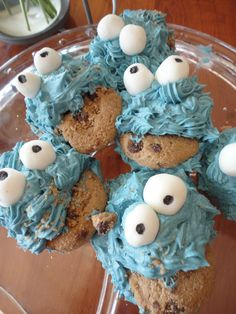 My own Monster Cookie Cupcakes!