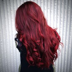 Red hair || Fall season  #Anton_theStylist #sps #wella #hairstylist #bumbleandbumble #oribe #red #curls #fallseason
