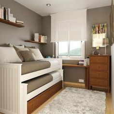 Small Bedroom Design For Two